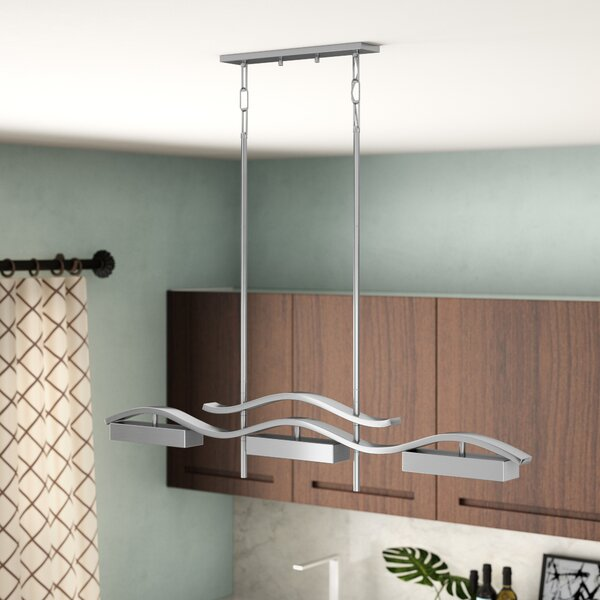 Elnath 3-Light Kitchen Island Pendant by Orren Ellis