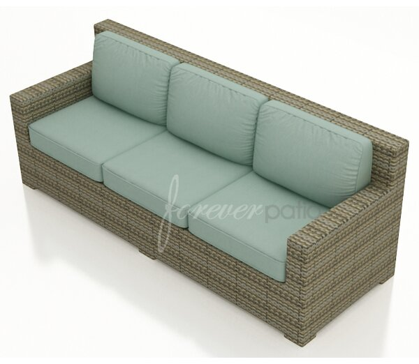 Hampton Patio Sofa with Cushions by Forever Patio