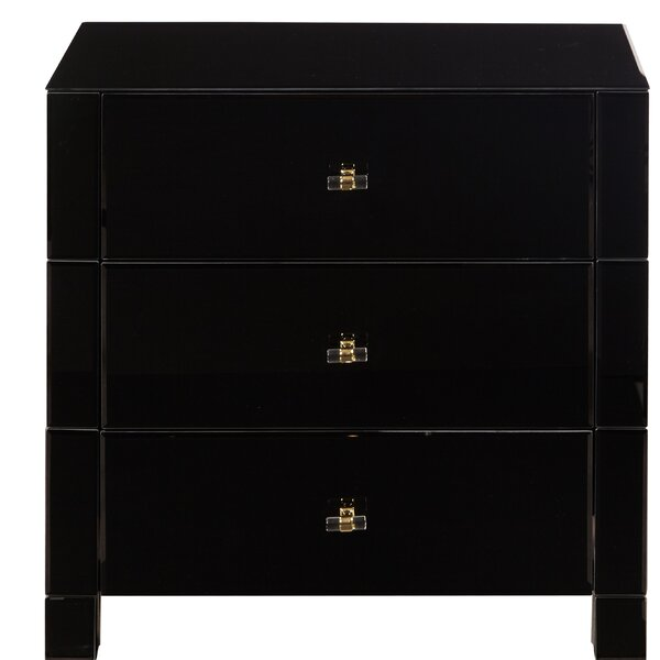 Mirror 3 Drawer Accent Chest by Willa Arlo Interiors