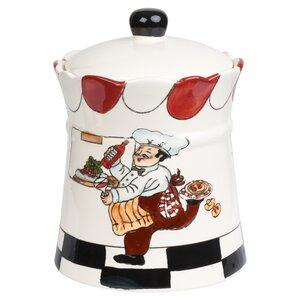 Chef Ceramic 2.35 qt. Cookie Jar
