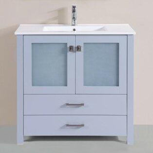 Lapp Modern 35 Single Bathroom Vanity Set by Latitude Run