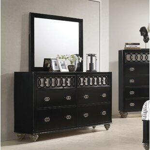 Nims 6 Drawer Double Dresser By House of Hampton