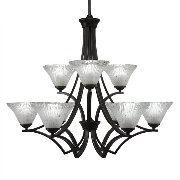 Bedolla 9 - Light Shaded Classic / Traditional Chandelier by Ebern Designs Ebern Designs