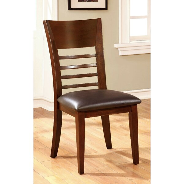 Yoder Upholstered Dining Chair (Set of 2) by Alcott Hill