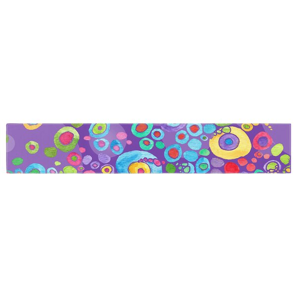 Catherine Holcombe Inner Circle Table Runner by East Urban Home