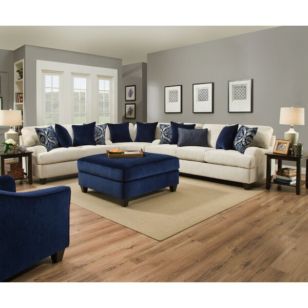 Hattiesburg Hartsfield Reversible Sectional by Three Posts