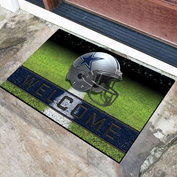 NFL Rubber Doormat by FANMATS