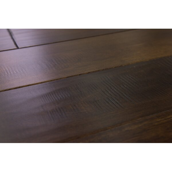 Seine 4-3/4 Solid Birch Hardwood Flooring in Coffee by Branton Flooring Collection