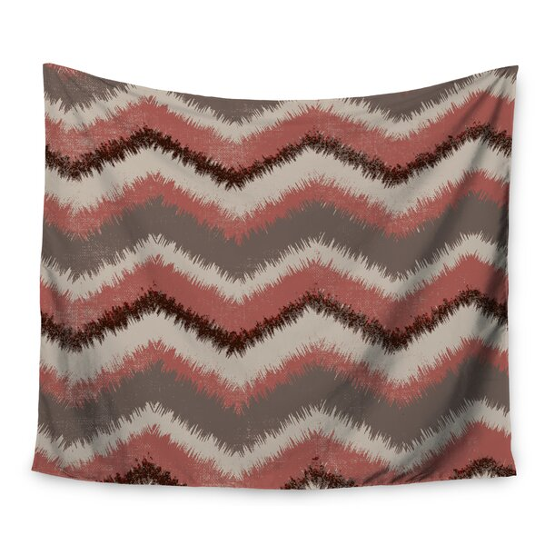 Fuzzy Chevron by Heidi Jennings Wall Tapestry by East Urban Home
