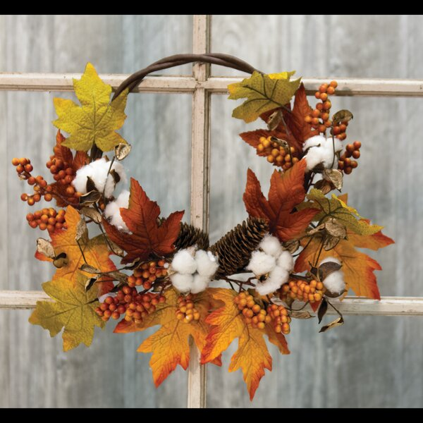 Harvest Half 18 Wreath by August Grove