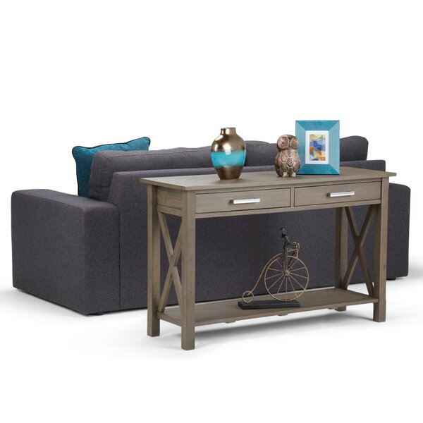 Charlton Home Gray Console Tables