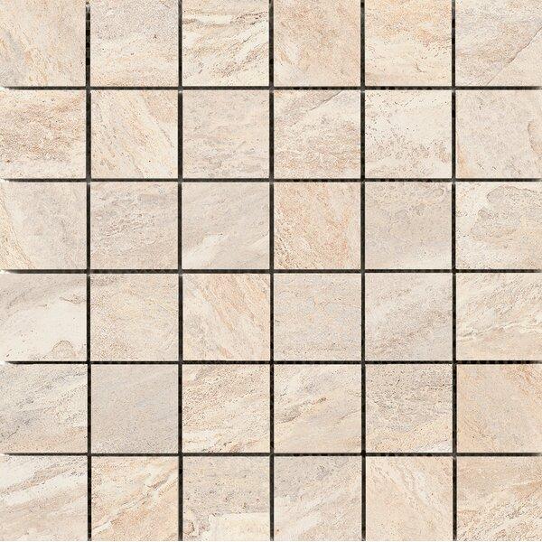 Milestone 2 x 2 Porcelain Mosaic Tile in Dust by Emser Tile