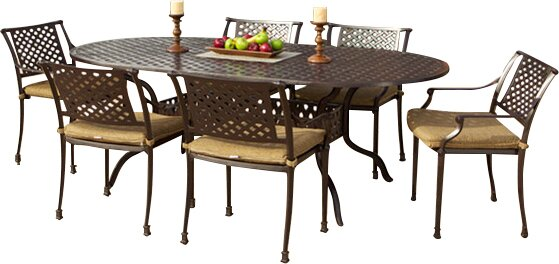 Sierre Dining Table by Art Frame Direct