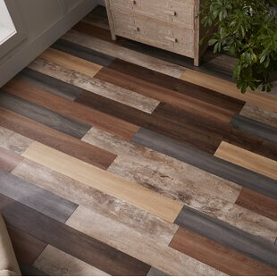 Peel Stick Vinyl Flooring Youll Love Wayfair - Shiny lino flooring