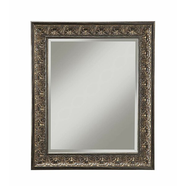 Townsend Polystyrene Framed Accent Mirror by Fleur De Lis Living