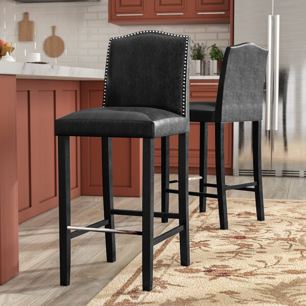 Kingsview 30.5 Bar Stool (Set of 2) by Alcott Hill