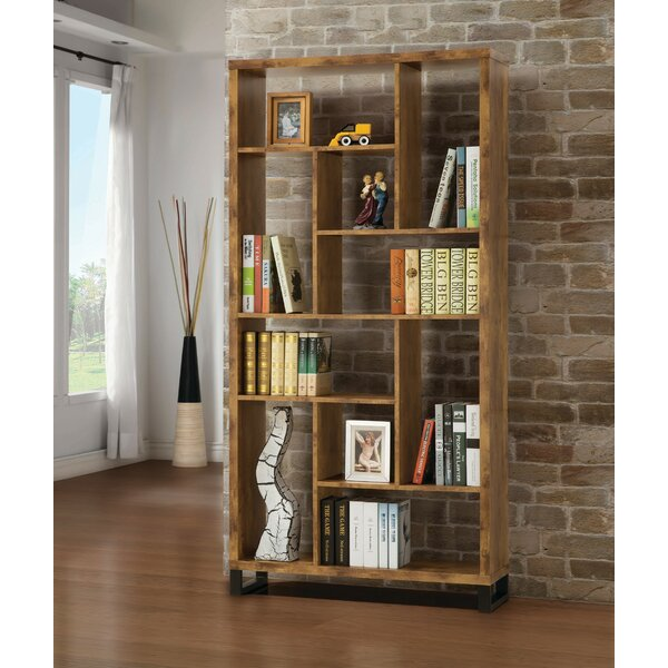 Discount Jiles Geometric Bookcase
