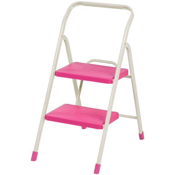 2-Step Folding Step Stool with 225 lb. Load Capacity by IRIS USA, Inc.