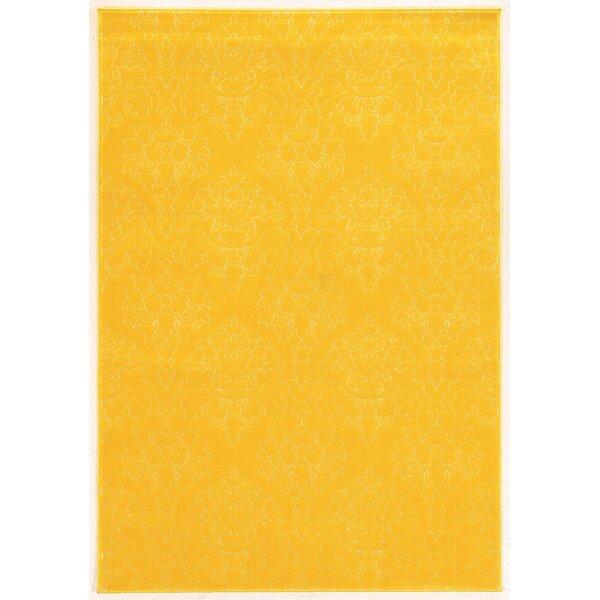 Prisma Chloe Yellow Rug by Linon Rugs