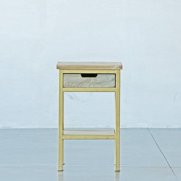 Izatt End Table with Storage by Brayden Studio Brayden Studio