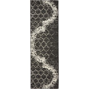 Steinbeck Charcoal Gray Area Rug by Wrought Studio
