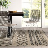 White Wicker & Rattan Kitchen & Dining Chairs You\'ll Love in ...