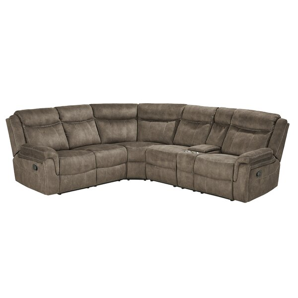 #2 Hadenson Reclining Sectional By Charlton Home No Copoun