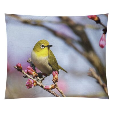 Latitude Run Bird By Boris Smith Tapestry Latitude Run Size 54 H X 63 5 W X 2 D Location Indoor Outdoor From Wayfair North America Shefinds