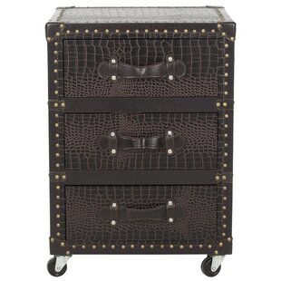 Great Price Lloyd 3 Drawer Rolling Chest By Safavieh