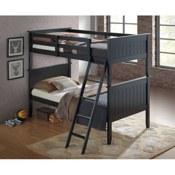 Collazo Twin Over Twin Bunk Bed by Harriet Bee