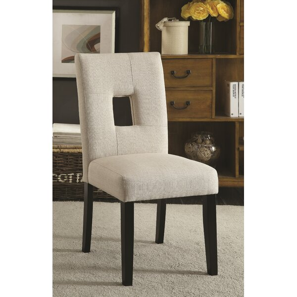 Mikah Upholstered Side Chair (Set of 2) by Latitude Run Latitude Run