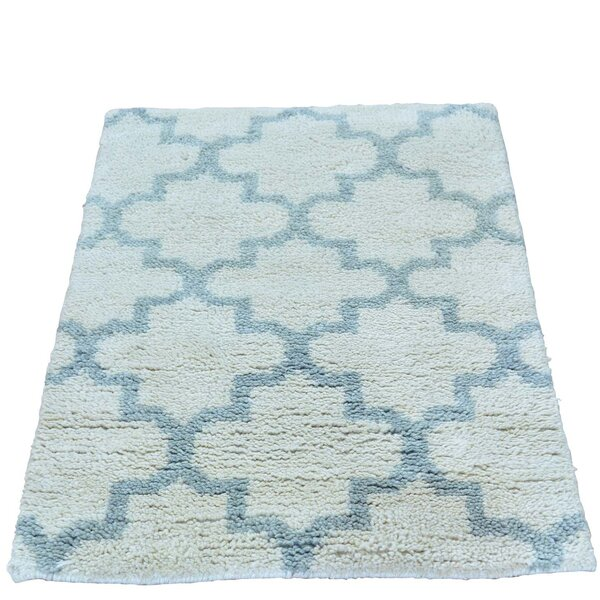 One-of-a-Kind Marcucci Plush Berber Hand-Knotted Ivory Area Rug by Ivy Bronx