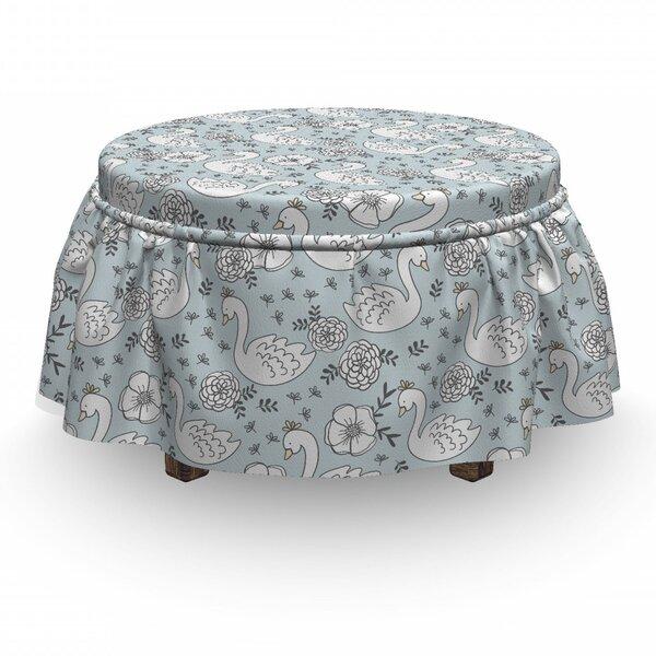 Compare Price Box Cushion Ottoman Slipcover