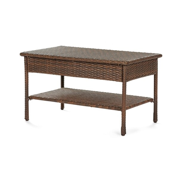 Depriest Wicker Coffee Table by Highland Dunes