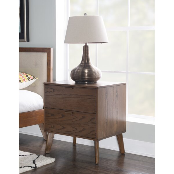 Radcliff 2 Drawer Nightstand by Corrigan Studio