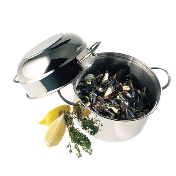 Resto 3.2-qt Stainless Steel Mussel Pot by Demeyere