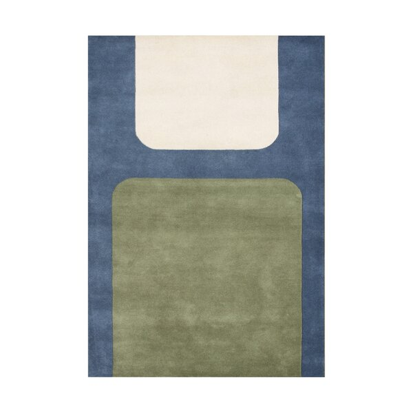 Riverwood Hand-Tufted Green/Blue Area Rug by The Conestoga Trading Co.