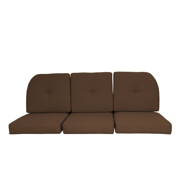 Wicker Indoor/Outdoor Sunbrella Sofa Cushion By Red Barrel Studio