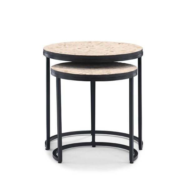 Skammel C Table Nesting End Table (Set Of 2) By Red Barrel Studio