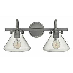 Savings Sondra 2-Light Vanity Light By Greyleigh