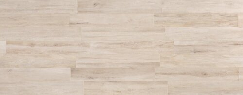 Travel 8 x 48 Porcelain Wood Look Tile in North White by Travis Tile Sales