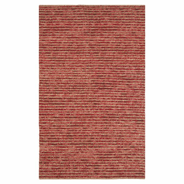 Romero Red Area Rug by World Menagerie
