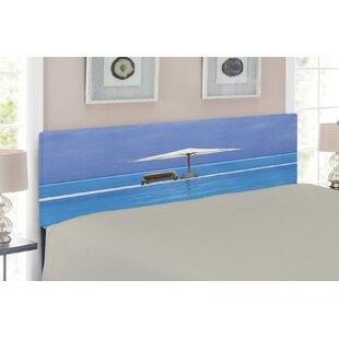Seaside Upholstered Panel Headboard by East Urban Home
