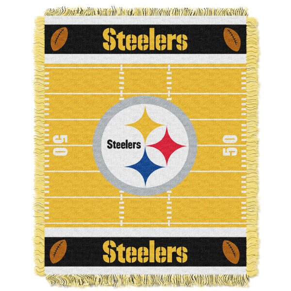 NFL Steelers Field Baby Blanket by Northwest Co.