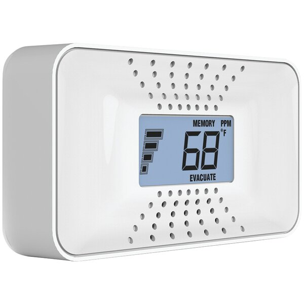 Carbon Monoxide Alarm with Temperature, Digital Display & Sealed Battery by First Alert