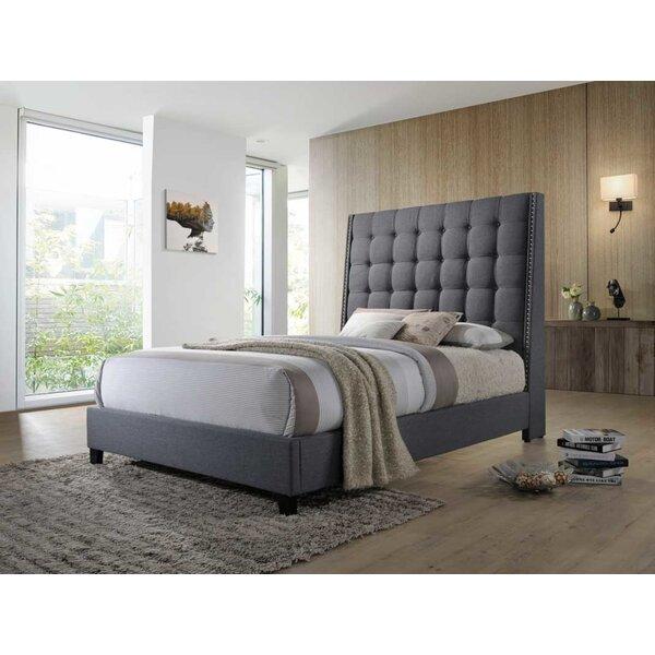 Deitch Upholstered Standard Bed by Brayden Studio