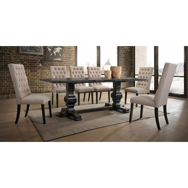 Demello 7 Pieces Dining Set by Gracie Oaks