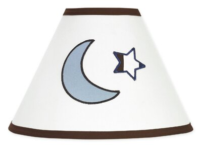 Starry Night 10 Cotton Empire Lamp Shade by Sweet Jojo Designs