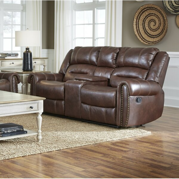 Get Premium Lohman Manual Motion Reclining Sofa by Winston Porter by Winston Porter