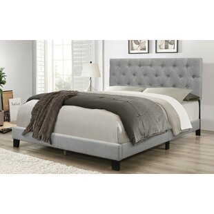Read Reviews Idalou Upholstered Panel Bed ByCharlton Home